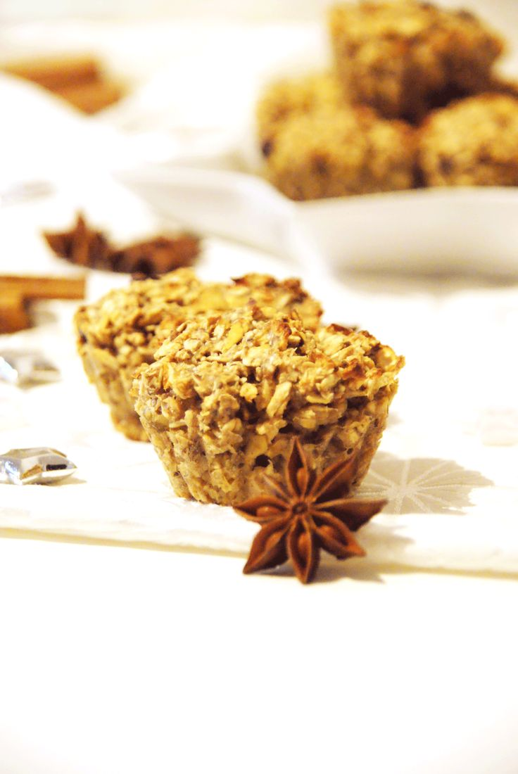 Vegan Oat Muffins which taste like the perfect winter