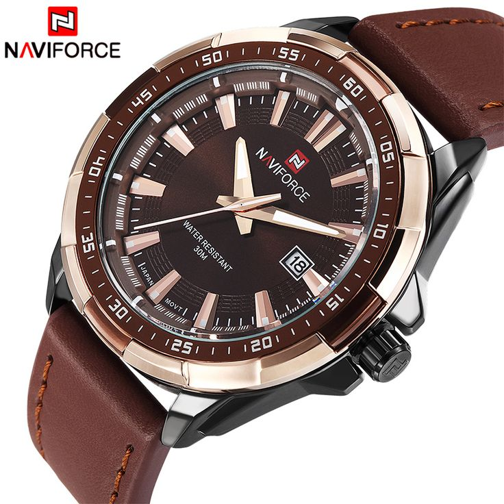 Like and Share if you want this  2017 NEW Fashion Casual NAVIFORCE Brand Waterproof Quartz Watch Men Military Leather Sports Watches Man Clock Relogio Masculino     Tag a friend who would love this!     FREE Shipping Worldwide     Get it here ---> https://shoppingafter.com/products/2017-new-fashion-casual-naviforce-brand-waterproof-quartz-watch-men-military-leather-sports-watches-man-clock-relogio-masculino/