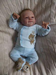GORGEOUS-Reborn-PREMIE-baby-boy-doll-LOGAN