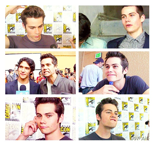 Dylan O'Brien, proof that funny is attractive.
