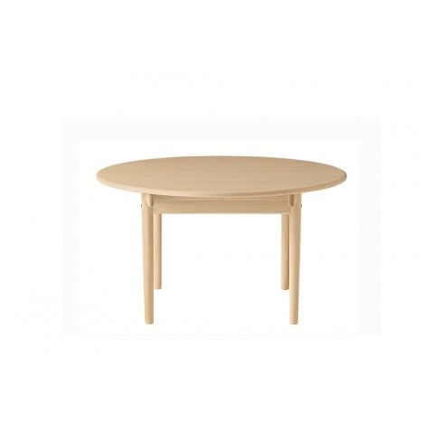 Table salle manger bois massif ronde avec rallonges for Table circulaire extensible