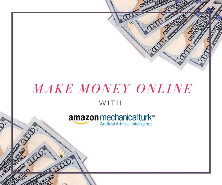 Check out how to make money online easily with Amazon's Mechanical Turk - something that even college students can do while in class.