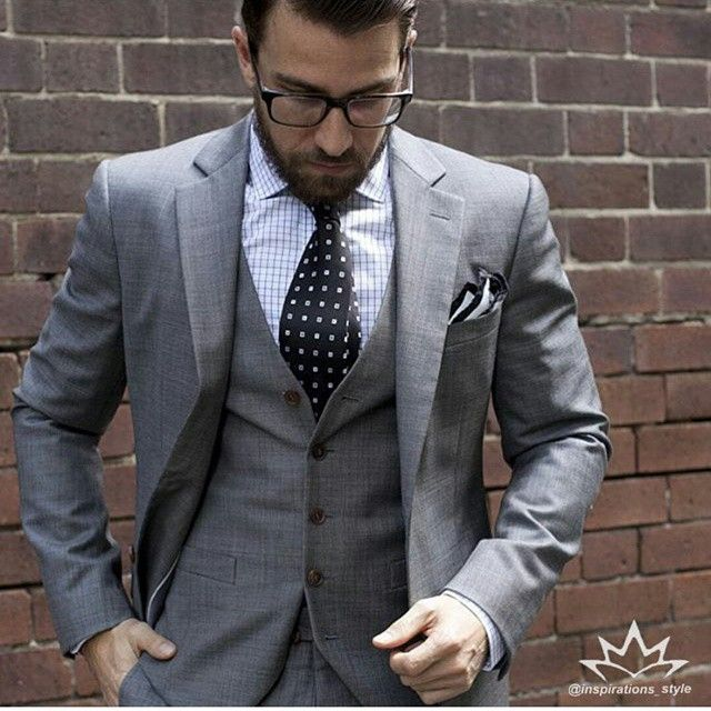 Best 25  Grey 3 piece suit ideas on Pinterest | Grey suits, Grey ...