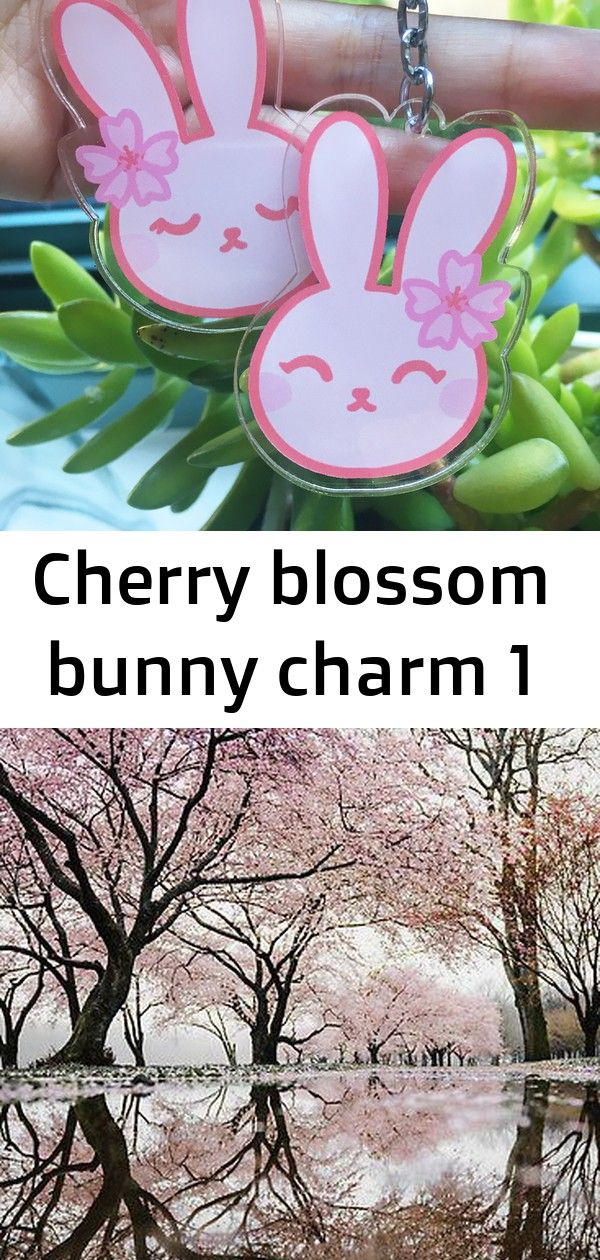 Cherry Blossom Bunny Charm 1 Cherry Blossom Cherry Blossom Tree Blossom