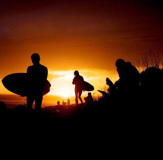 Sunset, surf, surfing, surfer, waves, ocean, sea, water, swell, surf culture, island, beach, surf's up, surfboard, salt life, #surfing #surf #waves