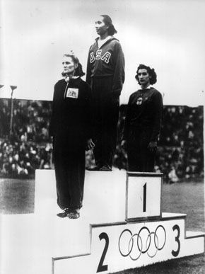 Alice Coachman, Gold medal winner, High Jump, 1948 Olympics, London - Alice was the first black woman from any country to win an Olympic gold medal