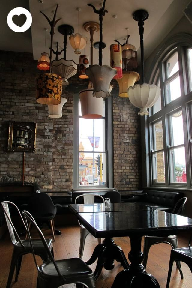 Northern steamship co brewbar - #Auckland NZ. Love the lamps!