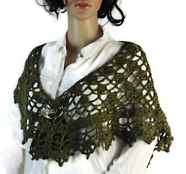 1318 best *CROCHET SHAWLS images on Pinterest | Ponchos ...