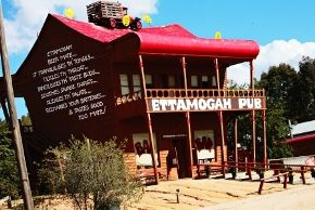 Ettamogah pub on the way to the beautiful Sunshine Coast, Australia. Been in only once but passed it a million times. It is part of Australian Folklore.