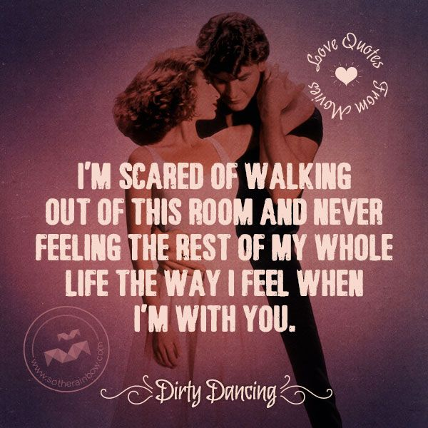 dirty dancing quotes | Dirty Dancing quotes , inspirational images…