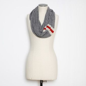 Roots - Cabin Infinity Scarf.  Hassle-free infinity style, and a thick, cozy knit make this scarf super wearable and super warm! Pair with jackets, hoodies, and button ups alike.