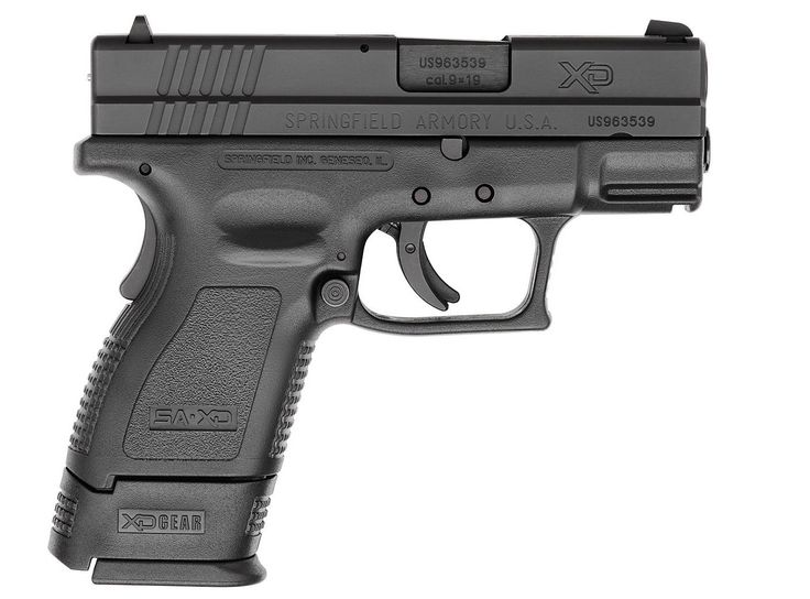 Springfield XD Subcompact Pistol. Nice weapon for the priceLoading that magazine is a pain! Save those thumbs & bucks w/ free shipping on this handgun magazine loader i got mind at  http://www.amazon.com/shops/raeind