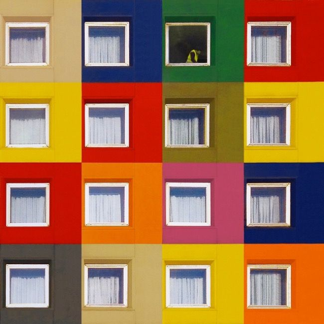Istanbul's Stunningly Colourful and Geometric Architecture by Yener Torun.