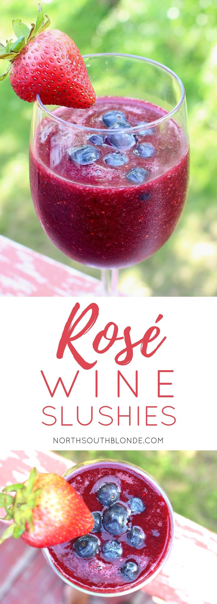 What's better than a slushy on a hot summer day? Wine slushies of course! Just like having a real fruit smoothie, but with more ice and a devilish kick. Because moms need lots of coffee and wine in their lives. Motherhood | Blender | Recipes | Easy | Smoothies | Wine Slushies | Mixed Drinks | Slushy | Summer | Refreshing | Gluten-free | Vegan | Paleo | Healthy | Superfood | Antioxidants | Weight Loss | Healthy | Holiday | Events | Parties | Celebrate | Dessert | Alcohol | Alcoholic Beverages…