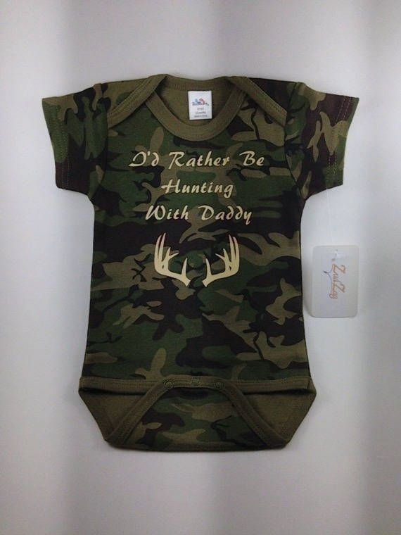 An Array Of Camo Baby Clothing Items And Accessories Ideal For Each