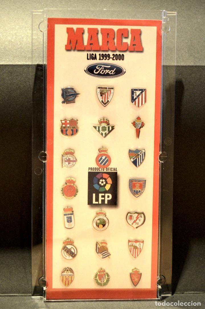 PIN COLECCION PINS ESCUDOS FUTBOL TEMPORADA 1999 2000 DIARIO MARCA