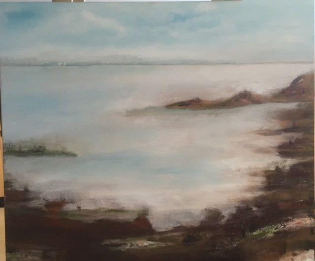 Landscape. oil on canvas