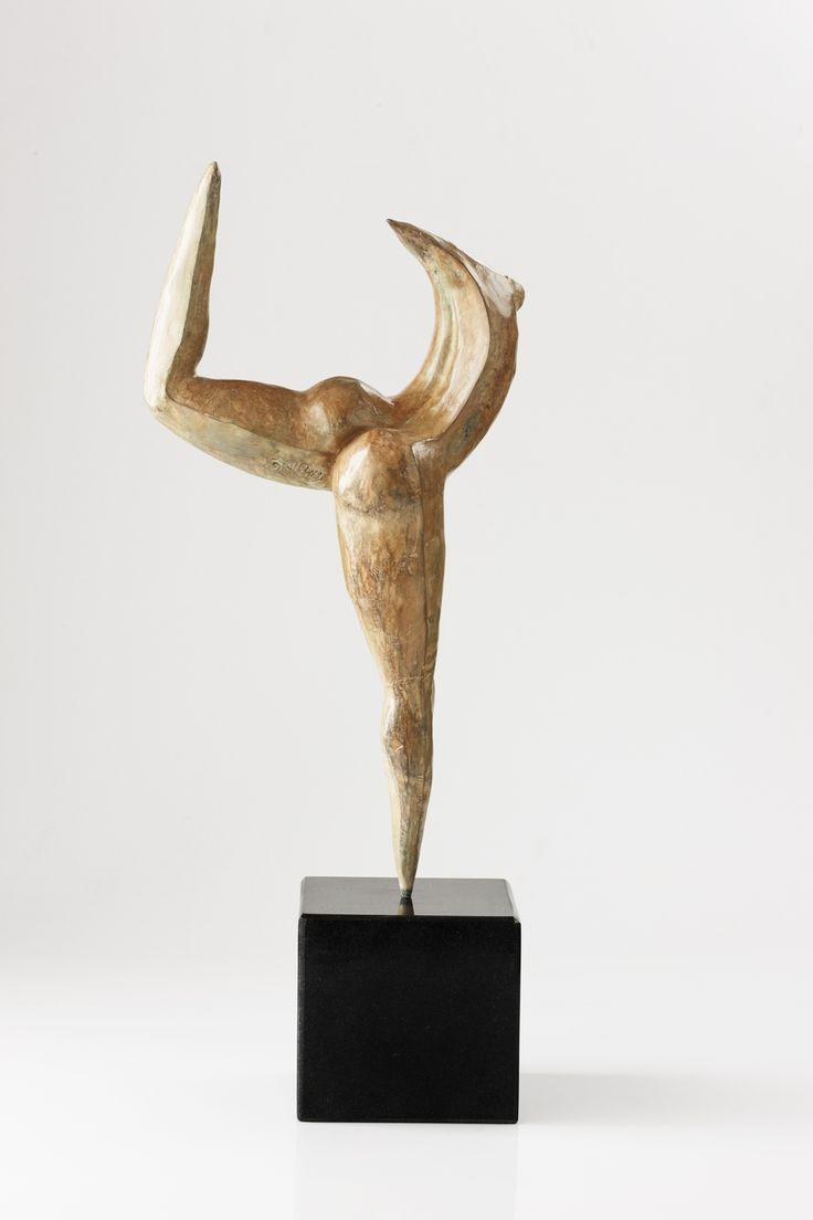 "An original bronze work by Carman Clews entitled ""Dancing Shiva, Natarajasana."" H 52cm.. #Sculpture #Yoga #Zen #InteriorDesign #FineArt #Art #SouthAfricanArt #SouthAfricanArtist #CarmenClews #Transcending #Ego #PinOfTheDay #Bronze #DancingShiva #Dancing #Shiva #Posture #Natarajasana For more please visit www.finearts.co.za"