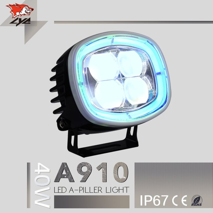 132.22$  Buy here - http://ali05j.worldwells.pw/go.php?t=32726646107 - LYC For Jeep Light Bumper Jeep Light Blue High Power Led Strobe Warning Light 12v Car IP67 2500lm 40W Imported Led Chip 132.22$