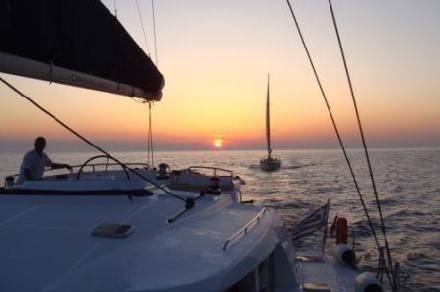 Private Sail~ Santorini