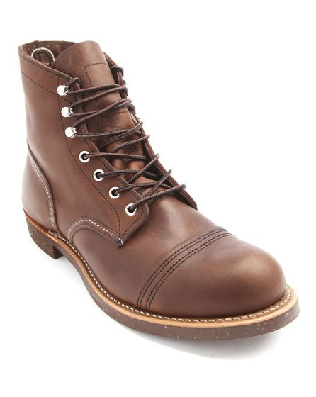 Boots marron foncé Iron Ranger 8111 RED WING