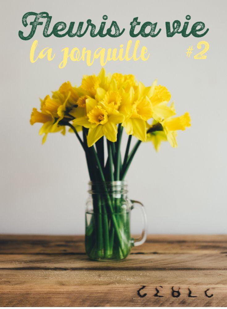 Découverte les jonquille en mars, des fleurs françaises locales et de saison avec la chronique fleurie de Boutique Pompom