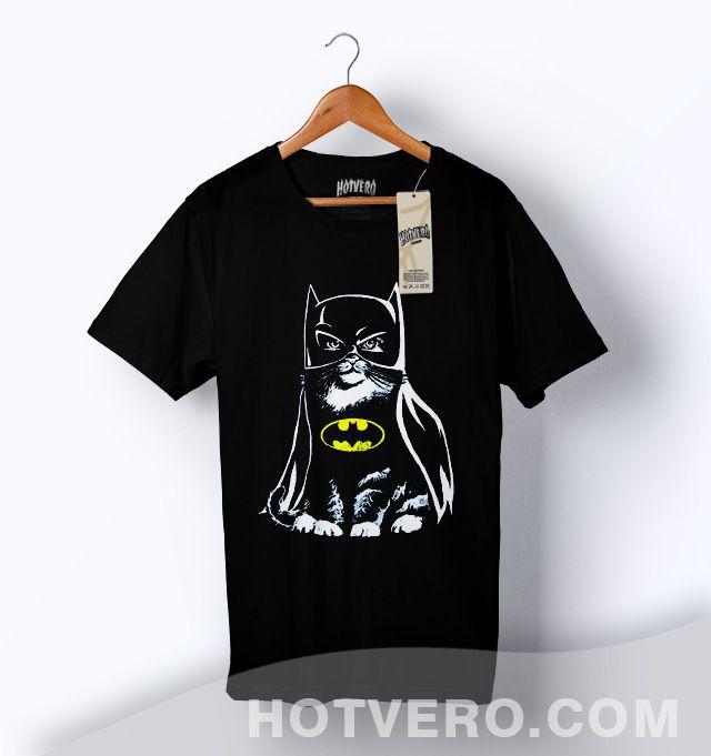 b5f6016a99ea Bat Cat Batman Funny Parody T Shirt   Price  14.00    urbanfashion