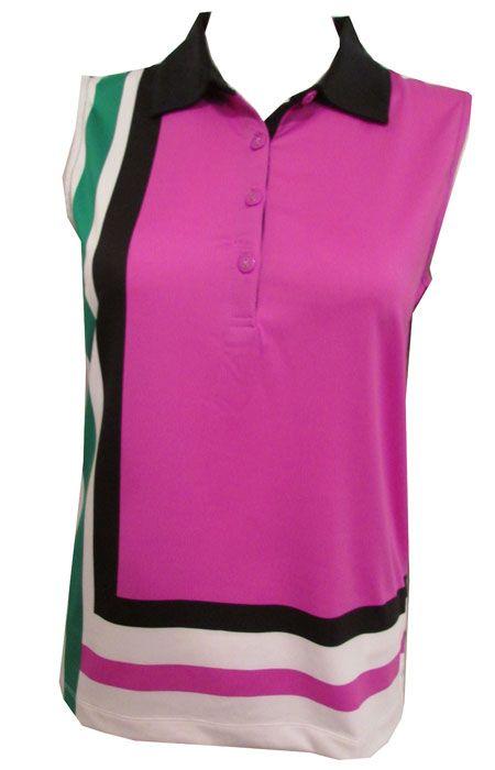685 best golf fashions images on pinterest golf fashion for Plus size sleeveless golf shirts
