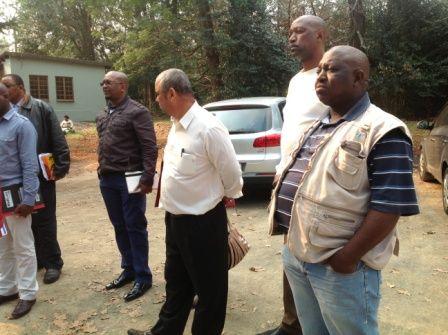 Brian Zuma, Marketing & Communications uMsunduzi Municipality with officials