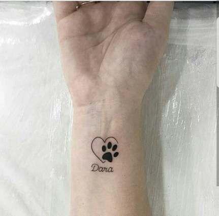 New Tattoo Ideas Dog Paw Tat Ideas