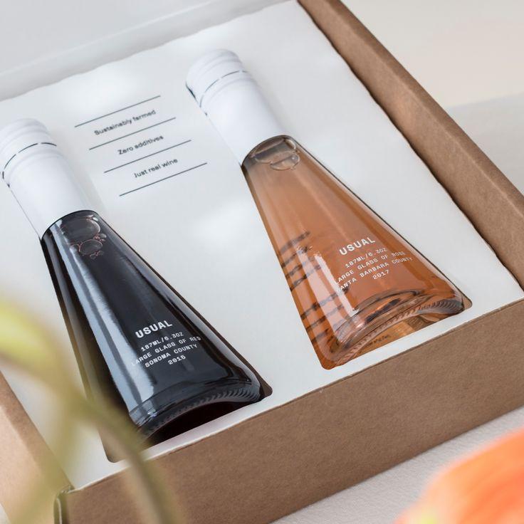 Red+Rosé                      – Usual Design Packaging, Bottle Packaging, Branding Design, Wine Drinks, Beverages, Red Blend Wine, Fruity Wine, Wine Bottle Design, Perfume