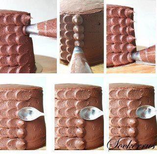zdobenie torty