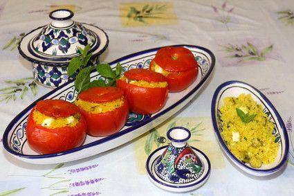 Tomates farcies à la marocaine