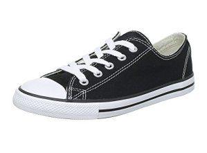 Shinmax New Unisexe Low Cut Chaussure en Toile Toute Saison Lace-Ups Chaussures Baskets Casual pour Basket Toile Femme et Homme