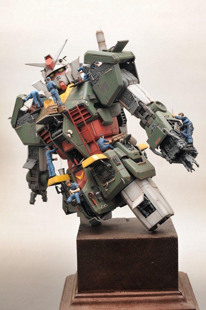 Mega Size Model 1/48 RX-78-2 Gundam [POST WAR]
