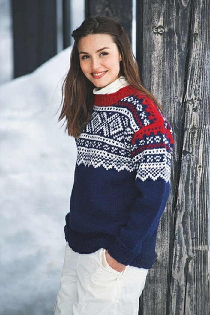 reputable site 53ca1 b80ce Die coolsten Modelle Norweger Pullover | Color Work Knitting ...
