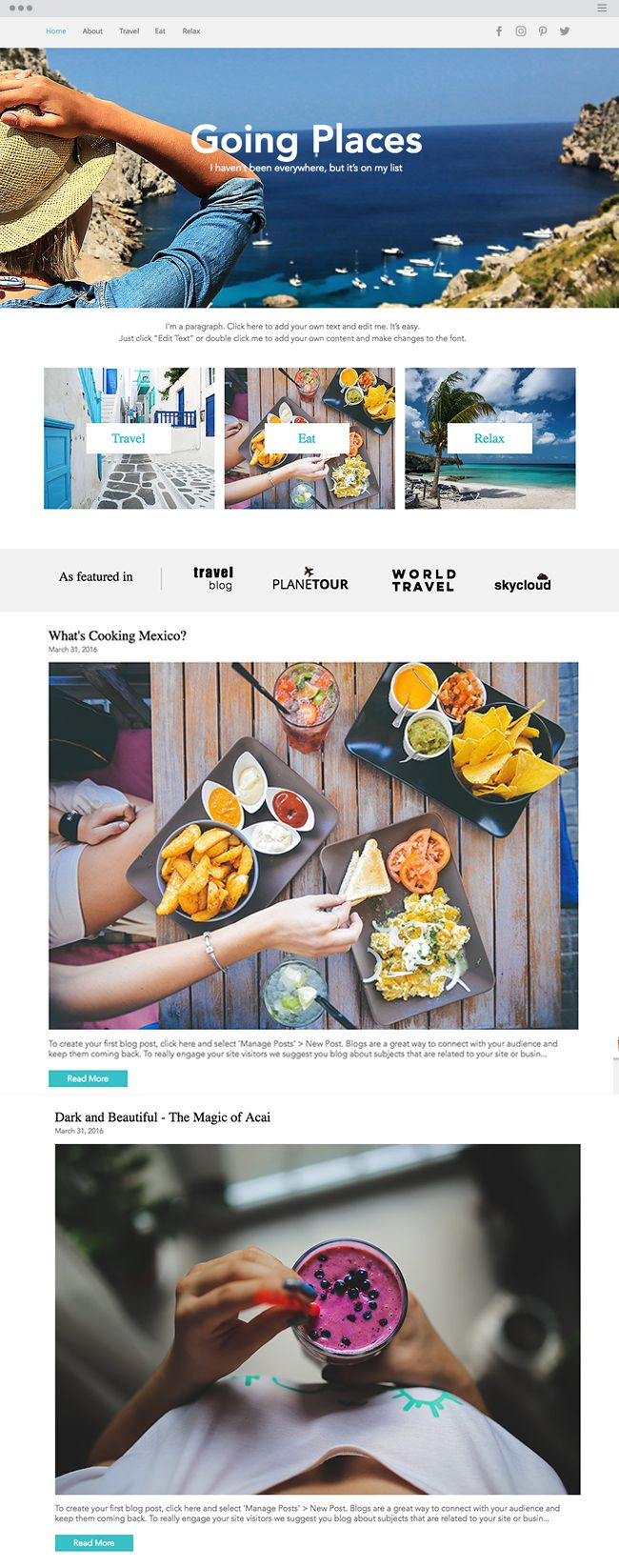 21 best wix templates for a new website or add-on images on ...