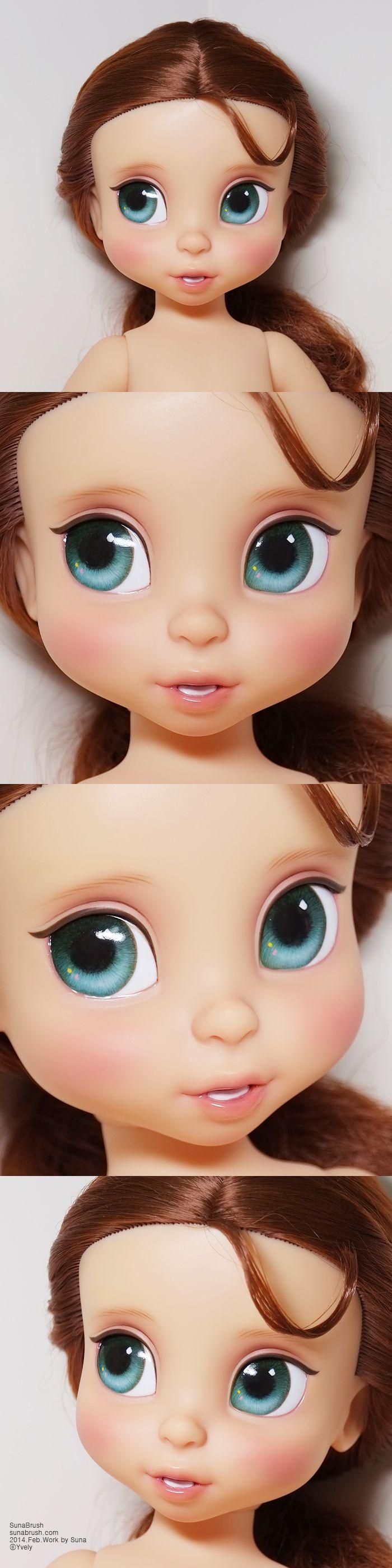 Disney Animators Collection Dolls - Belle by Yvely.deviantart.com on @DeviantArt