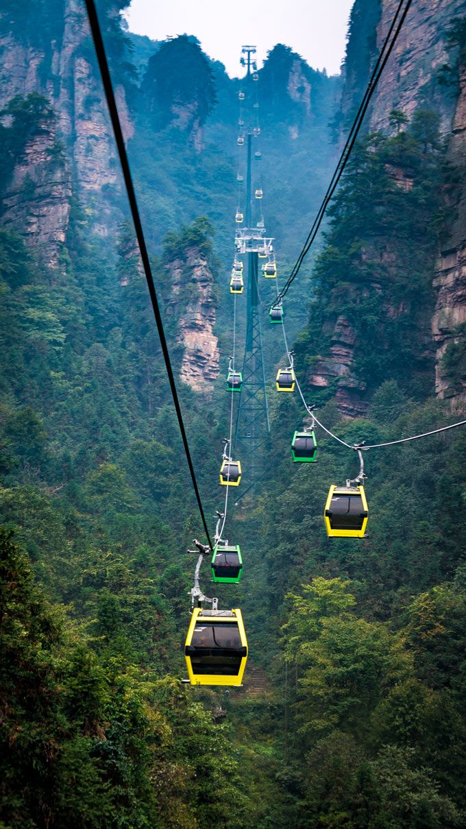 Climbing China's Avatar Mountain in Zhangjiajie National Forest Park - Global Girl Travels