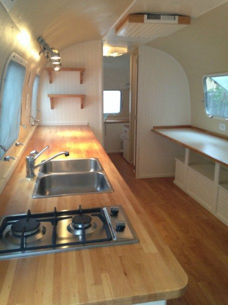 50 modern airstream interior design ideas airstream for Airstream decor