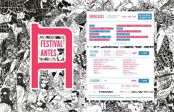 El Festival Antes, 10 días de música en la Ciudad de México. | Reactor 105.7 FM