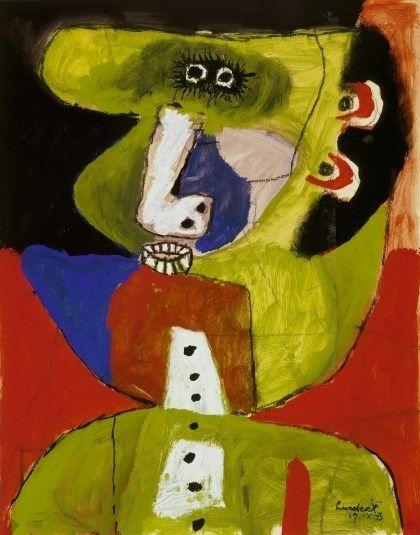 Lucebert: (zonder titel), 1953
