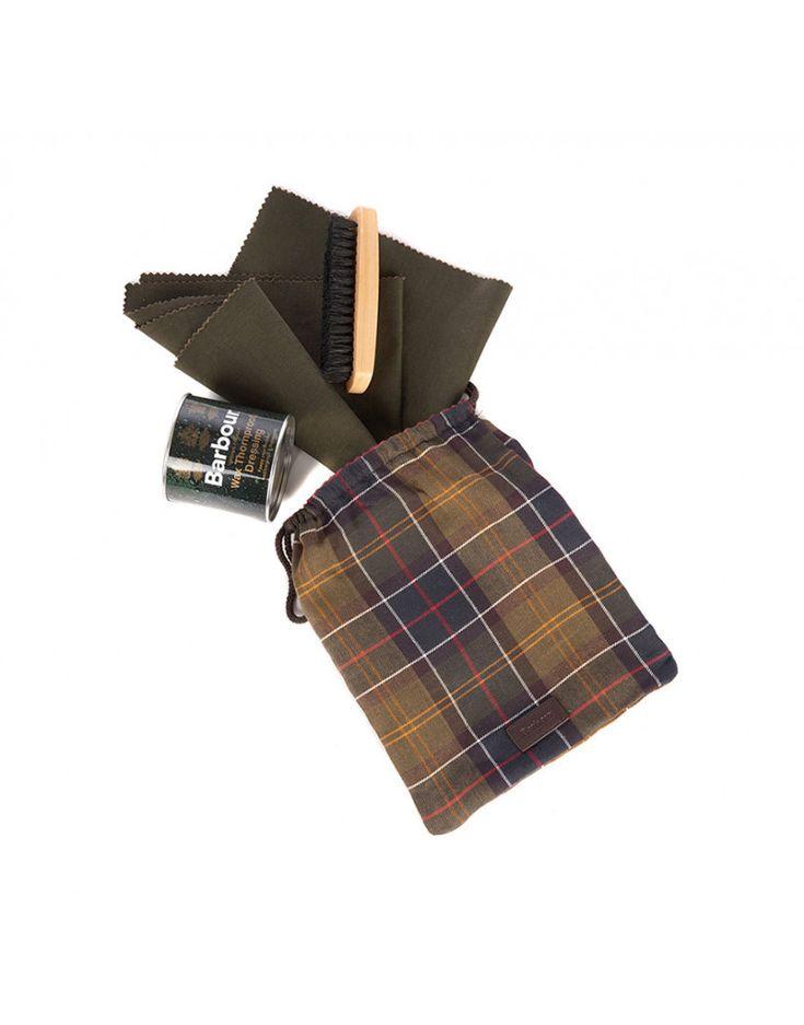 Barbour Wax Jacket Care Kit - Tartan MAC0155TN11