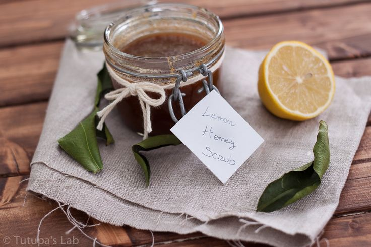 Lemon Honey Sugar Scrub - makes aprox. 3/4 cup scrub: 3/4 cup brown sugar, 1/4 cup honey, juice of 1/2 lemon, 1 tbsp olive oil, 10-15 drops essential oil (optional). This natural recipe is great to exfoliate your body. This will leave your skin SO SOFT! And reduce hair growth over time.