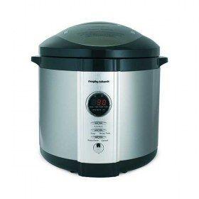 Pentola a pressione elettrica digitale Morphy Richards Rapid Cook 48815 - Utilizza la modalità cottura rapida per pesce, pollo, verdure fresche, riso, anche dessert.
