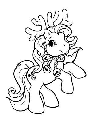 My Little Pony Reindeer