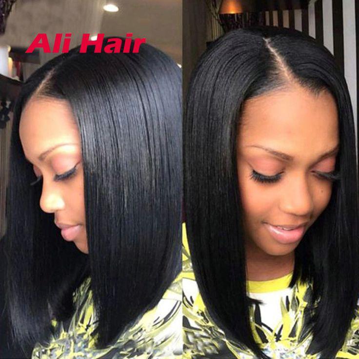 Saçlarin kapatilmasi Hair Weaving 7a Indian Virgin Hair Straight 4 Bundles Raw Virgin Indian Straight Hair Bundles Cheap Short Bob Indian Human Hair Weave Style ** Bu bagli bir çam AliExpress oldugunu.  Resmi tiklayarak AliExpress web sitesinde daha fazla bilgi edinebilirsiniz.