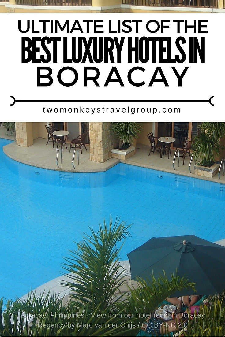 List of the best luxury hotels in boracay philippines
