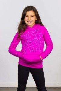 fushia Pullover hoodie, Joshua Perets