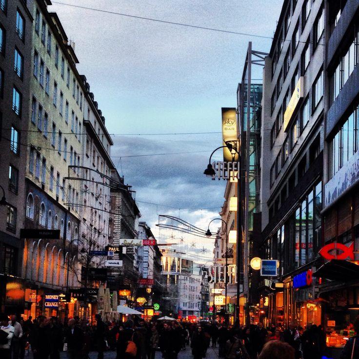 #Austria #vienna #center #tourism #shopping